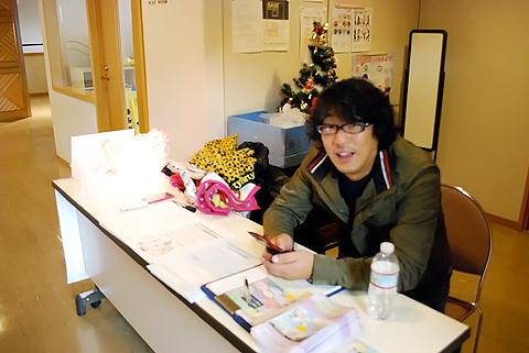 大阪建設労働組合門真支部青年部様イベントの様子