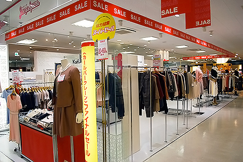 近鉄百貨店阿倍野店様 3回ヤングスクエアが会場です。