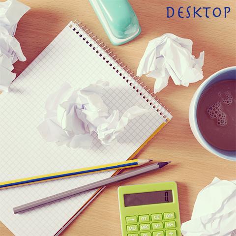 机の乱れは心の乱れ