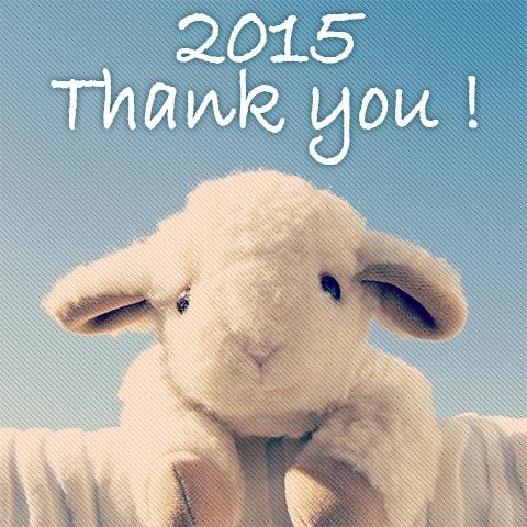 2015年ありがとうございます。